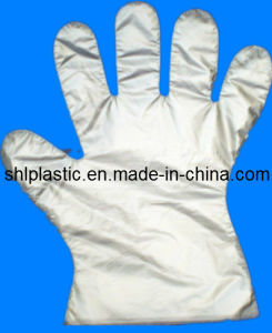 Embossed HDPE Gloves