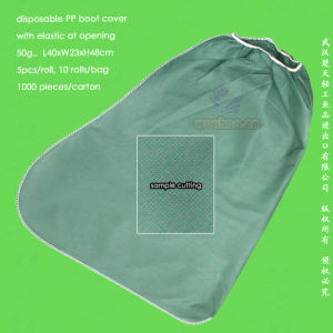Spun-Bonded Polypropylene Non-Woven/PP Disposable Boot Cover pictures & photos