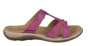 Ocupado Estilo De Visa Nubuck Leather Slide Style Sandals pictures & photos
