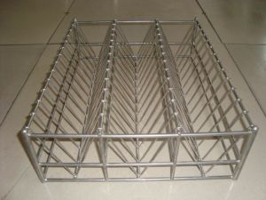 Stainless Steel Wire Rod Shelves pictures & photos