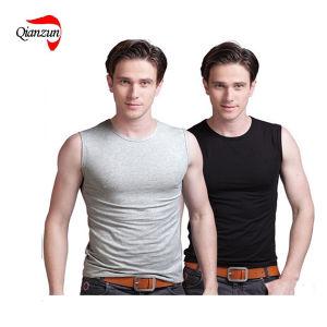 100% Cotton Men′s T-Shirts (ZJ115) pictures & photos