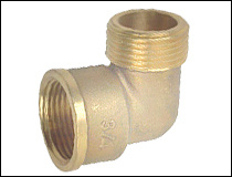 90 Degree Brass Elbow for Sanitary Ware pictures & photos