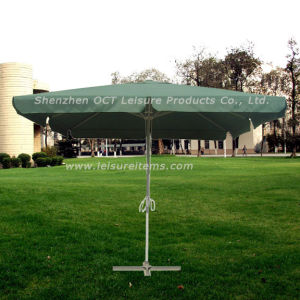 Square Garden Umbrella with Classic Green Color (OCT-AU005) pictures & photos