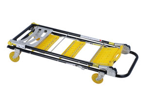 Best Selling Super Folding Step Ladder Trolley 3 in 1 pictures & photos