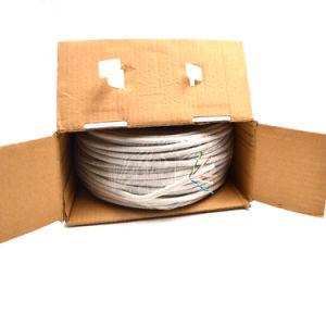 Network LAN Cable CAT6 UTP 305m Bc CCA Cu DC LAN Cable in All Departments 100m pictures & photos