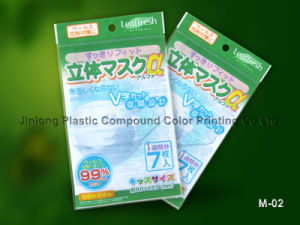 Plastic Mask Packaging Bag with Hanger Hole pictures & photos