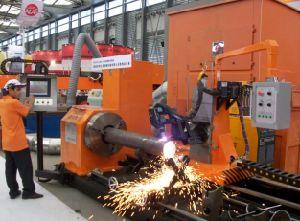 China CNC Pipe Profile Cutting Machine Pipe Plasma Cutting Machine pictures & photos