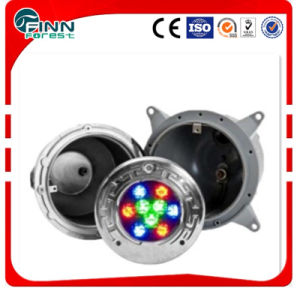 Factory Good Quality Buried Stainless Steel LED Pool Underwater Lights pictures & photos
