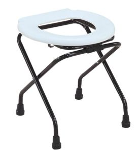 Steel Commode Chair Without Backrest (SC-CC01(S)) pictures & photos