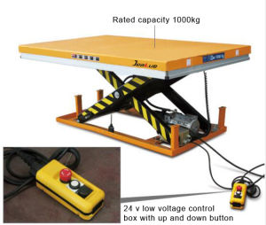 Heavy Duty Standard Electric Scissor Lift Table pictures & photos