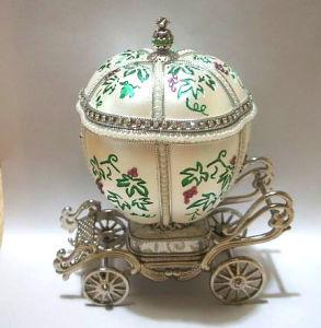 Goose Egg Music Box/Jewelry Box(YJC05M)