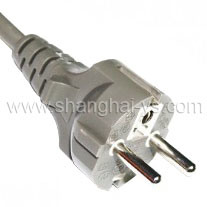 Certificated Power Cord Plug for Germany and European Countries (YS-01) pictures & photos