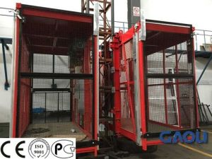 Single-Cage CE & GOST Approved Warehouse Cargo Building Elevator (SC100) pictures & photos