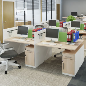 Office Furniture Office Desk for Two Person in Small Office pictures & photos