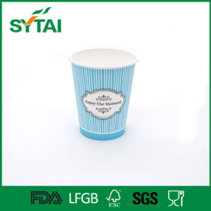 Custom Printed Disposable Paper Cup for Coffee, Tea or Beverage pictures & photos