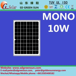 18V 10W Mono Solar Panel (2017) pictures & photos