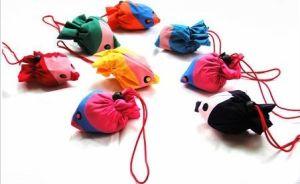 Lovely Cartoon Animal Folding Fish Shopping Bag Fish Bag