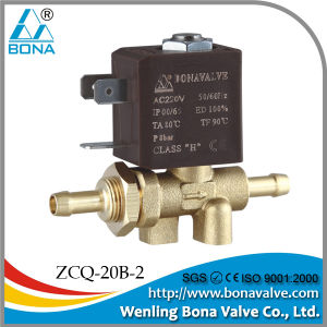 China Ce Copper Coil Ac12v Nipple 6 5mm Solenoid Valve