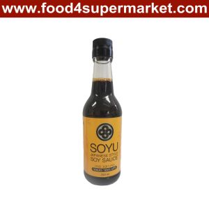 Naturally Brewed Japanese Soy Sauce in Glass and Pet Bottle with 500ml, 1L pictures & photos