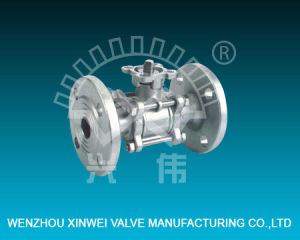 3 PC High Platform Flanged Ball Valve pictures & photos