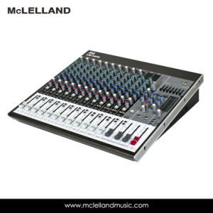 16 - Input 6-Bus Mixer with Mic Preamps, Equalizer, Multi-Fx Processor / Audio Mixer (LM-16FX) pictures & photos