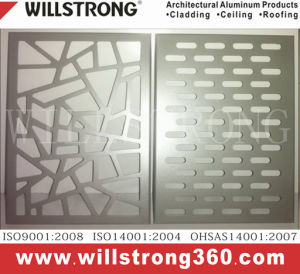 Aluminum Plate Single Panel for Wall Cladding pictures & photos