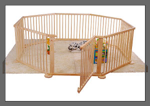 Baby Wooden Playpen Playyard Play Yard