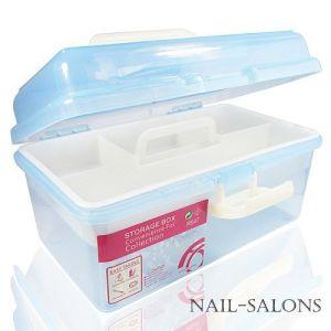 Nail Tool Container Plastic Box Nail Beauty Nail Art M Szie