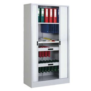 Steel Filing Cabinet Tambour Door Cabinet pictures & photos