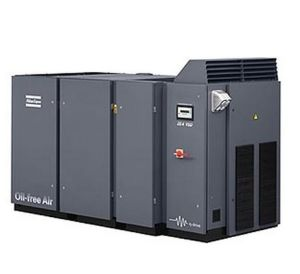Atlas Copco Oil Free Screw Air Compressor, Compressor, Air Compressor (ZE3 ZE4 ZE4VSD) pictures & photos