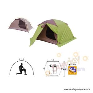 Camping Tent (SCC-706) 2-5 Person Tent pictures & photos