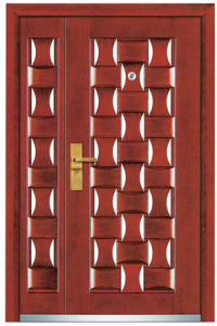 Steel Wooden Door Composite (FXGM- A103B) pictures & photos