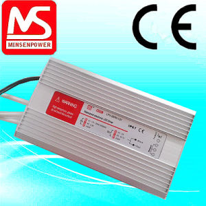 CE Certificate 12V 24V Waterproof Power Supply/ Switching Power Supply Waterproof 12V 24V