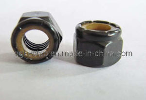 OEM High Quality Nylon Nut with White Zinc (KB-005)
