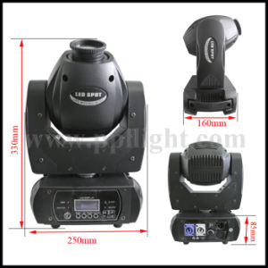 DJ 60W LED Stage Light Moving Head Spot with 3-Faced Prism pictures & photos