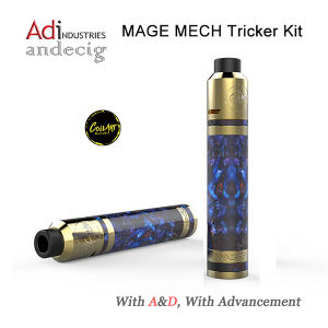 Coilart Mage Mech Tricker Kit 24k Gold Plated Mage Mech Mod pictures & photos