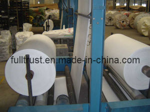 High Quality White Tubular Woven Fabric pictures & photos