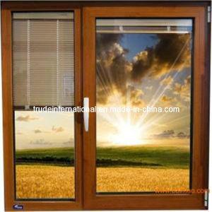 Aluminum Casement Windows with Internal Shutter pictures & photos