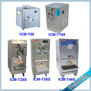Hard Ice Cream Making Machine Table Model pictures & photos