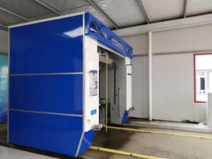 Rollover Hot Galvanized Steel Automated Car Washer pictures & photos