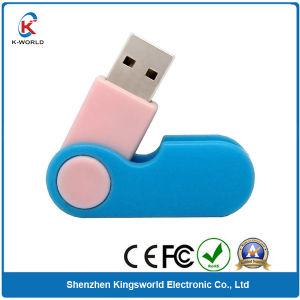512MB Plastic Rotating USB Flash Drive