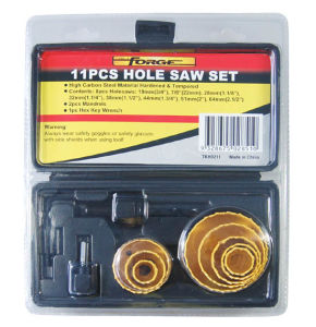 Power Tools Accessories 11PCS Hole Saw Set OEM pictures & photos