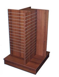 Wooden Display Rack for Clothes