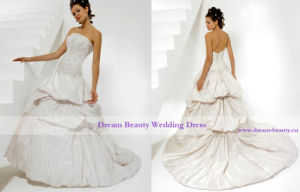 Wedding Gown & Bridal Gown (Hs14-Mic)