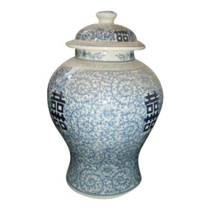 Hand Painted Porcelain Big Jar (LJ-01) pictures & photos