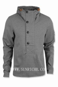 Men′s Knitted Fleece Hoody - Hoodie (HU2341) pictures & photos