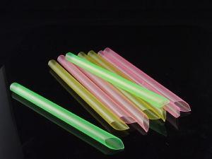 Bubble Milk Tea Neon Mix Colors Plastic Straws pictures & photos