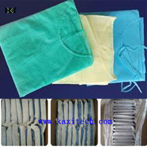 Disposable SMS Non Woven Surgical Gown Manufacturer Kxt-Sg10 pictures & photos