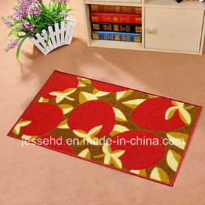 Comfortable Loop Pile Polyester Carpet Latex Backing Door Mat pictures & photos
