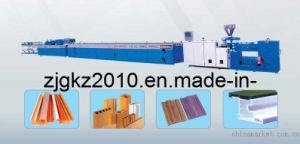 WPC Series (Wood-Plastic) Profile Extrusion Line (WPC) pictures & photos